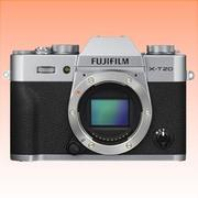 New Fujifilm X-T20 Mirrorless 24MP Body Digital Camera Silver (FREE INSURANCE + 1 YEAR AUSTRALIAN WARRANTY)