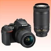 New Nikon D5600 Kit AF-P (18-55 VR) (70-300) Digital Camera Black (FREE INSURANCE + 1 YEAR AUSTRALIAN WARRANTY)