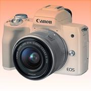 New Canon EOS M50 Kit (15-45mm) Digital Cameras White (FREE INSURANCE + 1 YEAR AUSTRALIAN WARRANTY)
