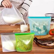 Reusable Silicone Vacuum Food Storage Sealer Bags