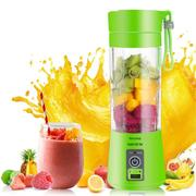 Portable USB Electric Fruit Juicer Machine Rechargeable Smoothie Maker Blender Bottle Cup