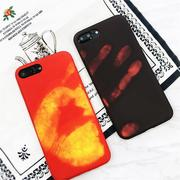 Physical Thermal Sensor Discoloration Soft TPU Shockproof Back Cover Case for iPhone 7