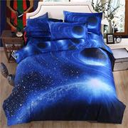 3D Galaxy Bedding Sets Universe Space Duvet Cover
