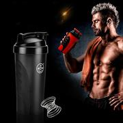 Smart Shake Gym Protein Shaker Mixer Cup Blender Bottle Drink Whisk Ball