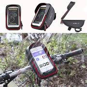 6inch Waterpoof Touch Sceen Mobile Storage Bag Phone GPS Bag Handlebar Mouting