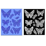 Silicone Butterflies Lace Mat Pad Lace Cake Fondant Mold Mousse Cake DIY Baking Decorating Tools