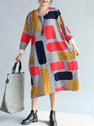 Square Printed Dresses