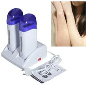 Double Roll Refillable Depilatory Hair Remover Wax Heater Machine