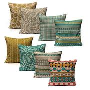 New Fresh Geometric Throw Pillow Case Sofa Cushion Cover