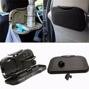 Car Back Seat Stand Desk Folding Table Drink Food Cup Tray Holder Mobile Phone Accessories Rack