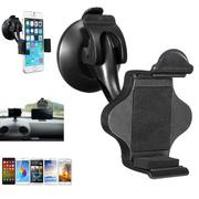 Anti-Slip 360° Car Phone GPS Holder Windscreen Dashboard Suction Mount 58-85mm Clip