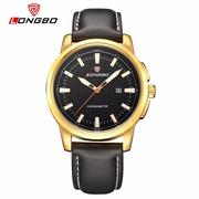 Leather Quartz Men Watch