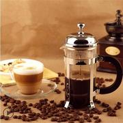 French Press Shatter Proof Coffee Maker Stainless Steel Frame Coffee Maker