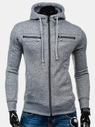 Zip Up Cotton Blend Sport Hoodies