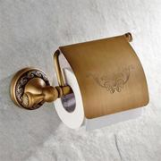Wall Mounted Antique Brass Toilet Paper Roll Holder Home Accessory