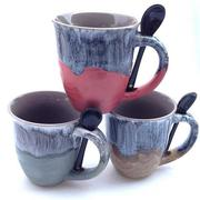 Kiln Change Coffee Cups High Capacity Office Big Mouth Anti-mouth Mugs