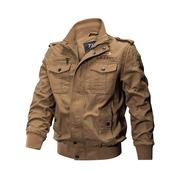 Plus Size Washed Military Jacket