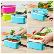 Portable Bento Lunch Storage Box Food Container Microwave Oven Box