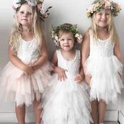 Layered Girls Tulle Dresses
