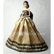 Party / Evening Dresses For Barbiedoll Lace / Organza Dress For Girl's Doll Toy