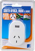 Jackson Outbound USB Travel Adaptor -Sth Africa