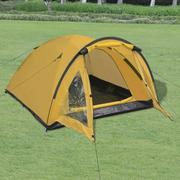 Camping tent for 3 people blue