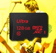 Free shipping  128GB memory card micro sd card class 10 tf card+gift reader card