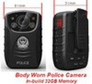 2014 new Multi-functional 1080P HD DVR Body Worn Police PI IR Camera Dash Cam mini sport camcorders with 32GB micro SD card